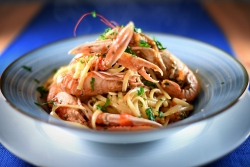 Spaghetti ai scampi